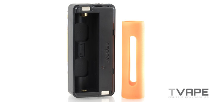 Aspire Puxos battery slot