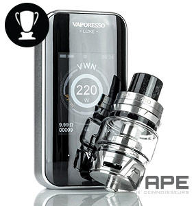 Vaporesso Luxe front display